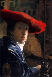 <b>Girl</b> With A <b>Red</b> Hat <b>Painting</b> by Jan Vermeer Van Delft ...