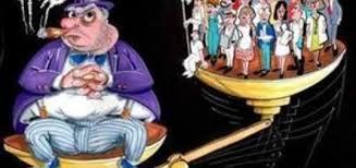 """Résultat de recherche d'images pour """"caricatures de la répartition malsaine des richesse"""""""