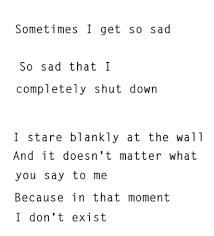 depression sad lonely quotes alone toiandmoi •