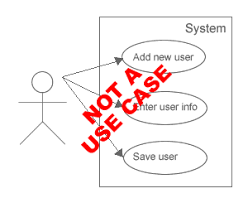 use cases   definition  requirements management basics this is not a use case