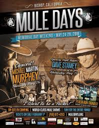 bishop mule days advertisement design nils davis design mule days 2016