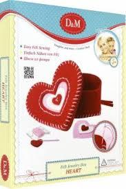 """""""<b>Набор</b> - <b>шкатулка</b> из фетра """"Сердце"""" (3265)"""" купить шитье ..."""