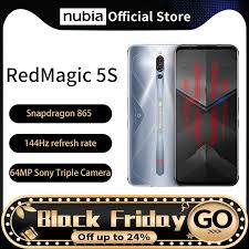 <b>Global Version Nubia</b> Red magic 5S Gaming Smartphone ...