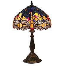 Xuanh Tiffany Style Table Lamp Bedroom Bedside ... - Amazon.com