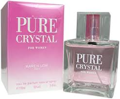 <b>Karen low</b> Pure Crystal for Women Eau De Parfum, 3.4 ounces ...