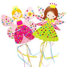 <b>4PCS</b> Children DIY Fairy stick Princess Handmade Materials ...