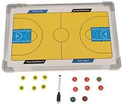 F Fityle Portable <b>Basketball Coaches</b> Boards <b>Aluminum</b> Strategy ...