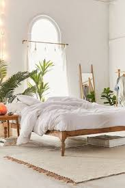 <b>Bohemian Mango</b> Wood Platform Bed | Urban Outfitters
