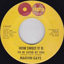 <b>Marvin Gaye - How</b> Sweet It Is (To Be Loved By You) | Discogs