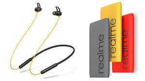 Realme Buds <b>Wireless</b> Bluetooth <b>Earphones</b> With <b>Magnetic</b> Control ...