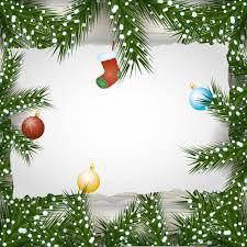 <b>Веселый новогодний</b> фон с шарами и листьями <b>украшения</b> ...
