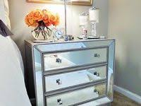 Mirrored <b>bedside tables</b>