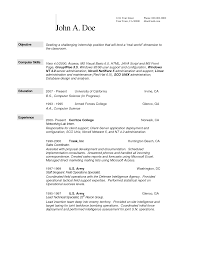 computer science sample resume sample resume  computer