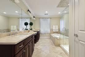 finished single small master bathroom designs dark
