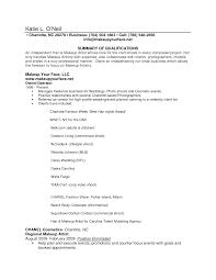 10 lance makeup resume sample job and resume template beginner lance makeup artist resume