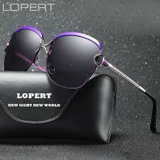 <b>LOPERT Fashion Polarized Sunglasses</b> Women Luxury Brand ...