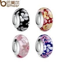 Glass Beads: лучшие изображения (47) | Bracelets, Murano glass ...