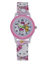 Hello Kitty <b>Watch</b> with Teddy Bear <b>Cool</b> Design <b>Fashion</b> Pink <b>Girls</b> ...