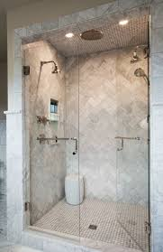 bathroom shower tile design color combinations: view the portfolio of a recent ca interiors project in wash park denver colorado with refined design details luxe finishes and a soothing color palette