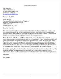 internship cover letter examples pdf  cover letter sample cover letter for academic advisor