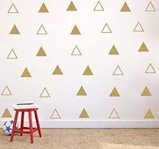 <b>YOYOYU</b> 64 pcs/Set 7cm <b>Modern</b> Vinyl Triangles <b>Wall Decal</b> Solid ...