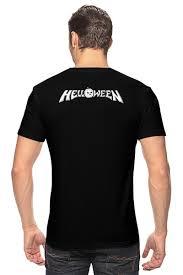 <b>Футболка классическая Helloween</b> ( rock band ) #764548 от ...