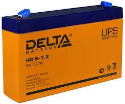 Купить <b>Delta</b> Battery HR 6-7.2 <b>аккумулятор для ибп</b> HR по лучшей ...