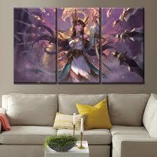 Modern Painting Framework Art <b>Poster</b> 3 Panel <b>Game</b> ARK Survival ...