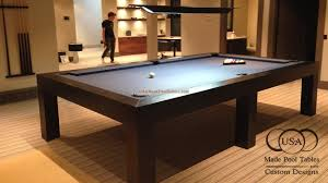 pool table contemporary square