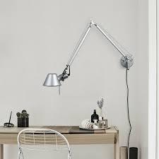 <b>Adjustable Modern Long Swing</b> Arm Wall Lamp Plug-In Wall Sconce ...