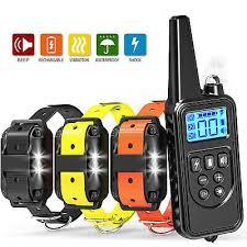 USB 3 Modes Waterproof <b>800m</b> Remote <b>Pet Dog Training</b> Electric ...