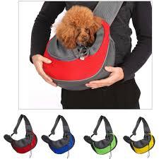 2019 <b>Pet Puppy Carrier</b> Bag <b>Outdoor</b> Travel Handbag Pouch Mesh ...