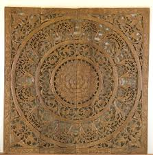 d wall decor home panels impressive kan thai decor wall panels lotus panel d teak wood n kan th