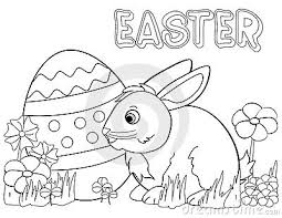 Small Picture Easter Bunny Rabbit Coloring Pages Laura Williams