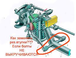 Замена втулок нижних рычагов — Сообщество «<b>ГАЗ</b> Волга» на ...