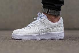 nike air force 1 low croc white crepsource air force crocodile white