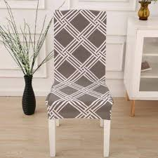 Removable <b>Stretch</b> Home Furniture <b>Chair Covers</b> Slipcovers Dining ...