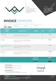lance logo design proposal and invoice template for blue invoice template design layout royalty cliparts vectors 46490306 stock v invoice template design template