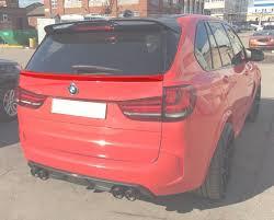 <b>Карбоновый спойлер крышки багажника</b> для BMW X5 F15 ...