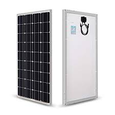 Renogy 100 Watts 12 Volts Monocrystalline <b>Solar Panel</b>