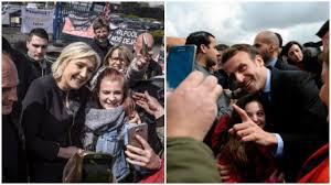 """Résultat de recherche d'images pour """"Le Pen/Macron : ultime journée de campagne"""""""