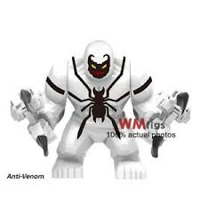 <b>Marvel Avengers 4 Super</b> Heroes Lego ANTI-Venom Figures Blocks ...