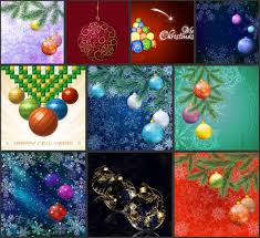 vector graphics vector graphics blog page  christmas backgrounds for greeting card designs fir twigs and balls vector templates