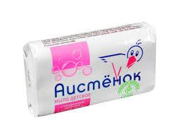 <b>Мыло</b> туалетное детское <b>Аистенок</b> с миндальным молочком и ...
