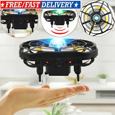 Mini Wireless Drone Quad <b>Induction</b> Levitation UFO <b>LED Light USB</b> ...