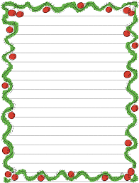 7 best images of printable blank christmas note blank christmas blank christmas writing paper