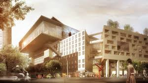 design of office building. office building of the design o
