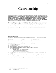 how to write cover letter guardian sample parent guardian letter of writing a letter of guardianship temporary guardianship letter