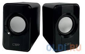 <b>CBR CMS 336</b> Black, Акустическая система 2.0, питание USB, 2х3 ...