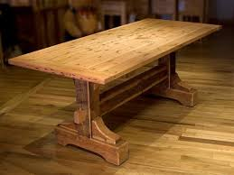 dining room kitchen tables oak wood farmhouse rustic dining table plans this is the one i will be making in the spri